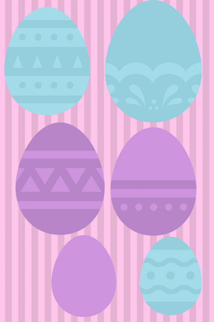 printable easter eggs for kids free