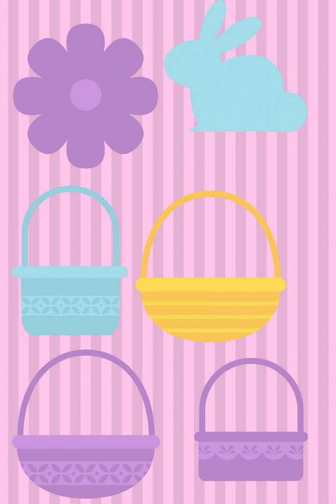 printable easter baskets free
