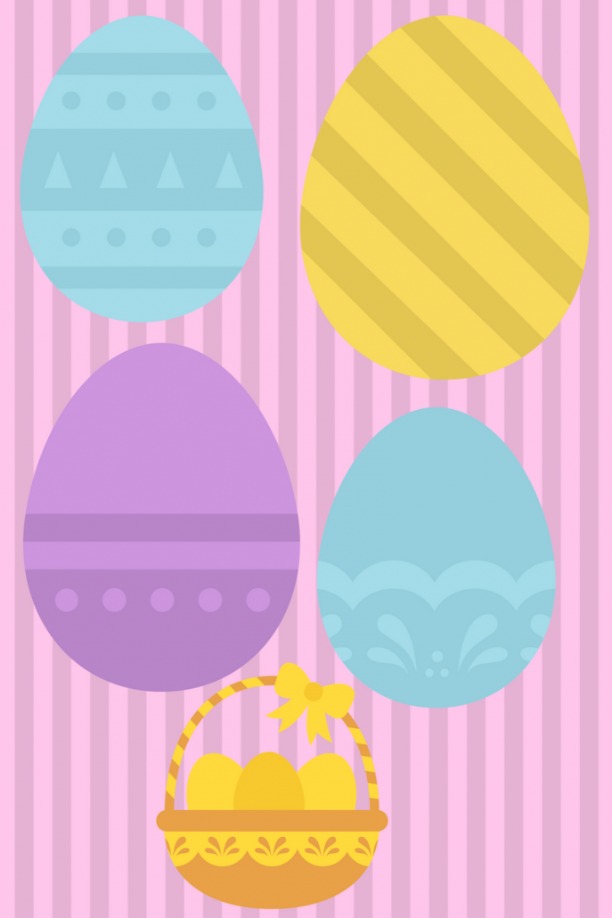 easter egg printables kids