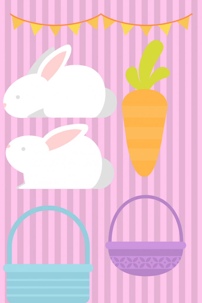 printable easter bunny kids
