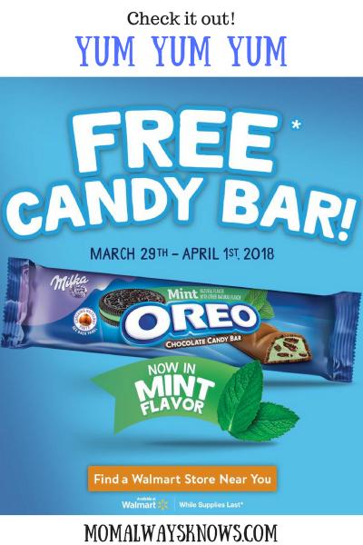 Big Savings on OREO Candy Bars at Walmart
