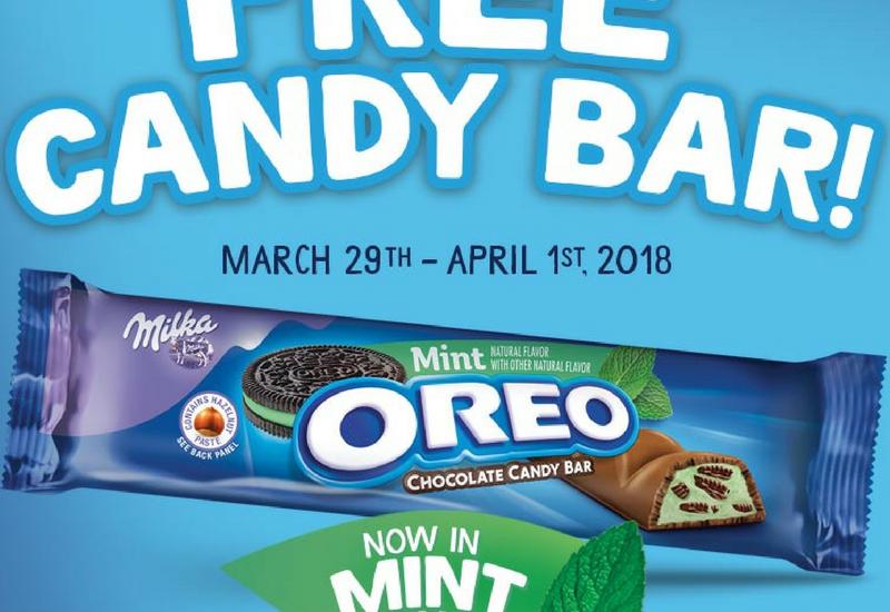 free oreo candy bar