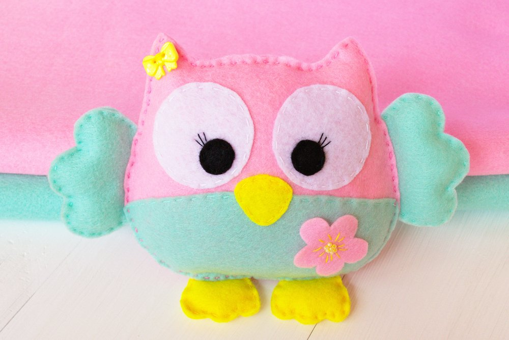 how to sew felt owl