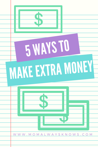 5 Easy Ways to Make Some Extra Money