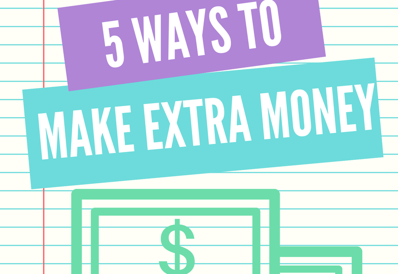how to make extra money now