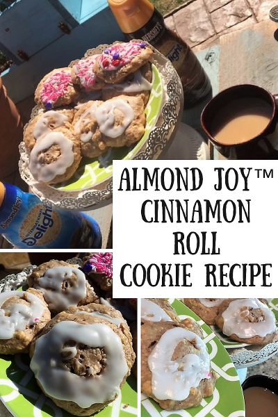 Get Ready for Spring with Almond Joy™ Cinnamon Roll Cookie Recipe