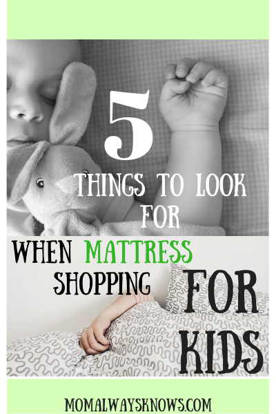 5 Tips to Find The Best Mattress for Kids