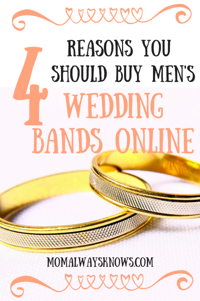 4 Reasons you Should Buy Men's Wedding Bands Online