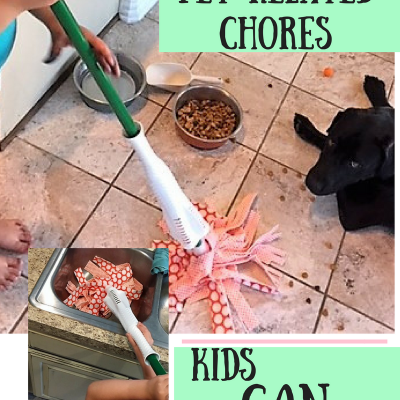 Easy Pet-related Chores Kids Can Do