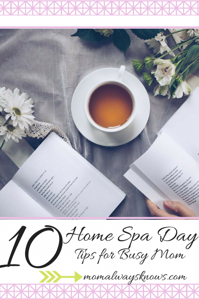 spa day at home products