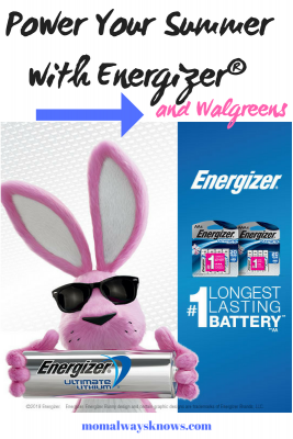 Power Your Summer withEnergizer®Ultimate Lithium™ batteries and Walgreens