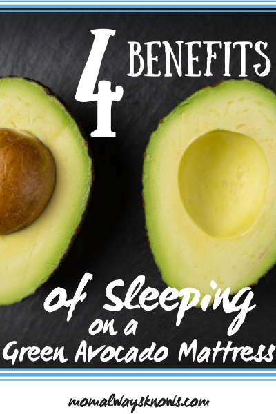 4 Benefits of Sleeping on a Green Avocado Mattress