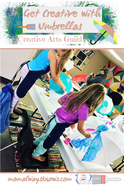 Get Creative with Umbrellas at Creative Arts Guild