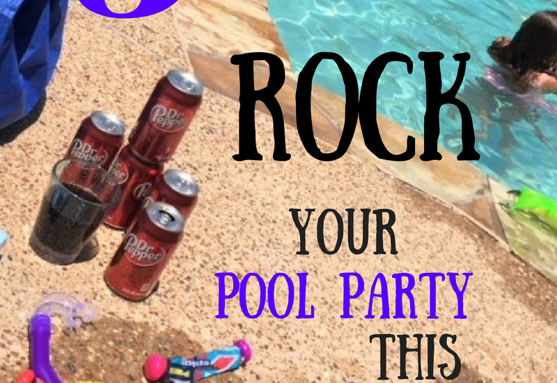 drinks for pool party