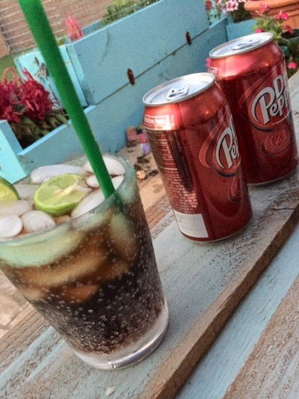 dr pepper with lime