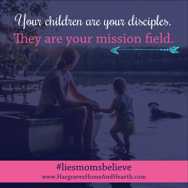 being a mom is like mission