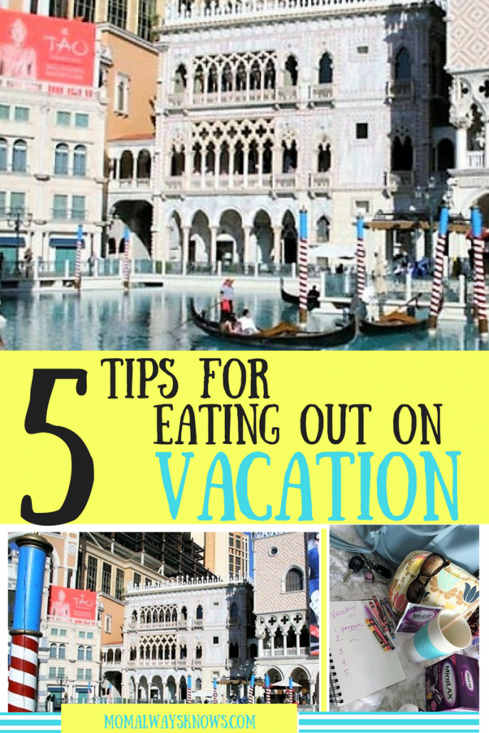 tips for eating out on vacation
