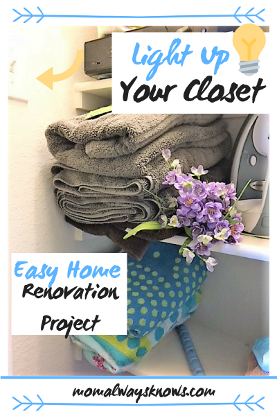 Light Up Your Closet with This Easy Home Renovation Project