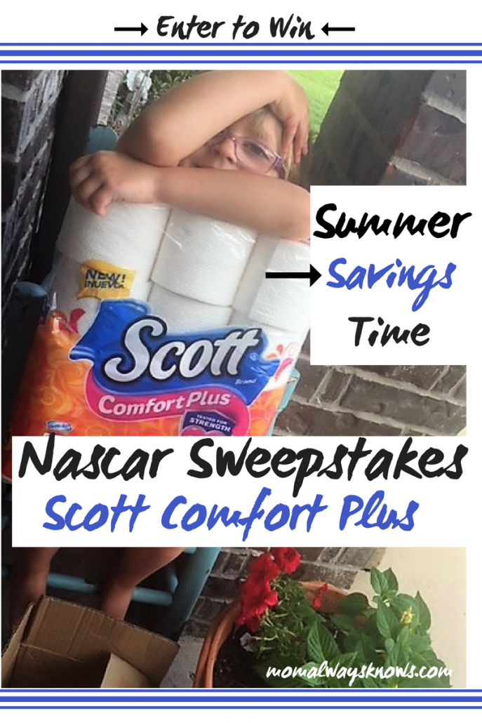 scott comfort plus nascar sweepstakes