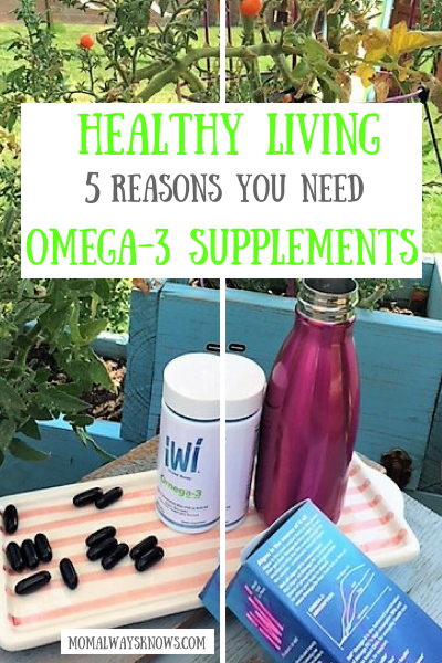 Healthy Living: 5 Reasons You Need Omega-3 Supplements