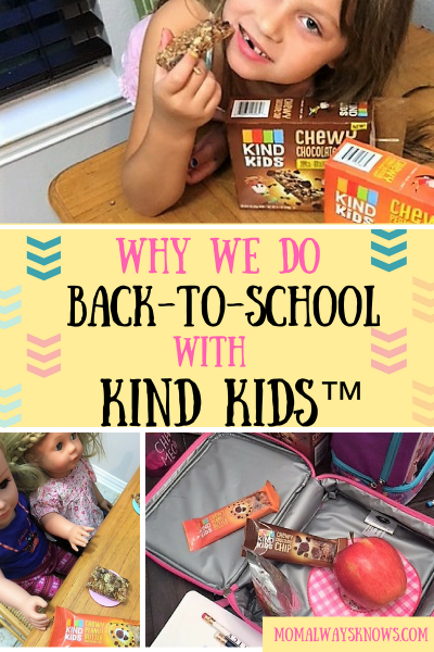 Why We Do Back-to-School with KIND Kids™ Plus Bonus Sweepstakes