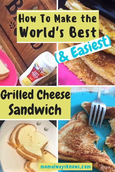 How to Make the World's Best (and Easiest) Grilled Cheese Sandwich
