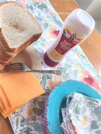 easy grill cheese sandwich