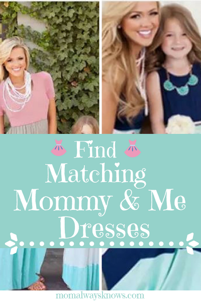 Where To Get Matching Mommy and Me Dresses