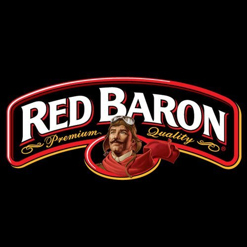 red baron pizza logo