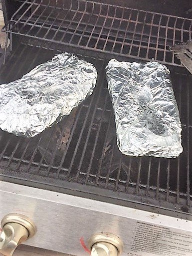 foil wrapped ribs