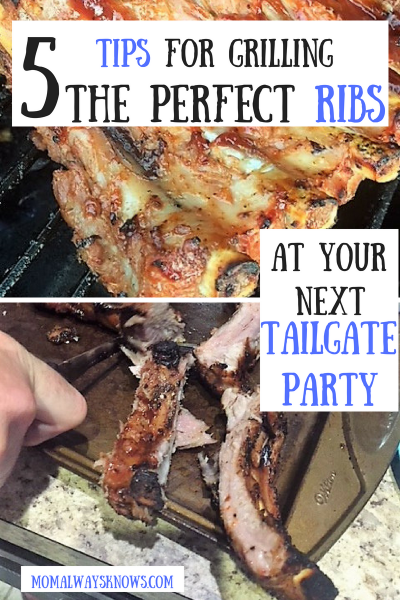5 Tips for Grilling The Perfect Ribs at Your Next Tailgate Party