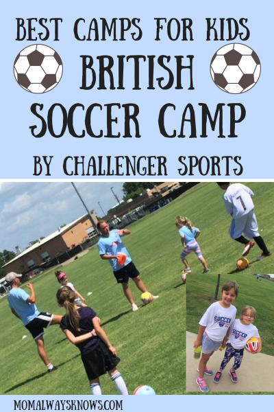 Best Camps For Kids:  British Soccer Camp By Challenger Sports