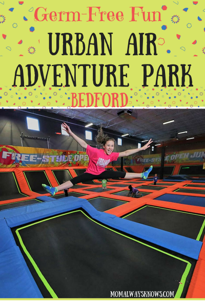Germ-Free Fun- The New Urban Air Adventure Park in Bedford TX