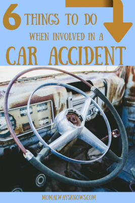6 Things To Do When involved in a Car Accident