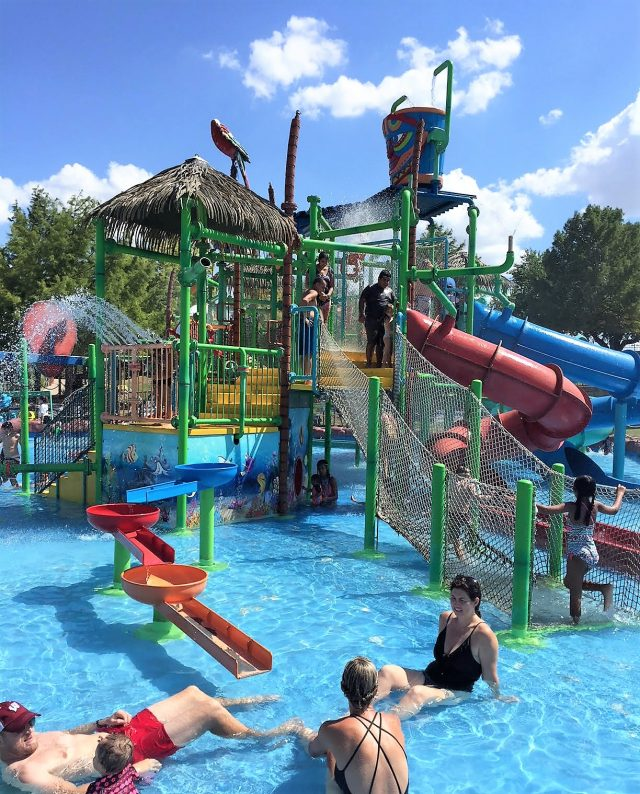 kids area Hawaiian falls