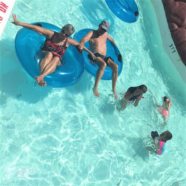 Find fun things to do with kids in DFW like Hawaiian Falls Water Park
