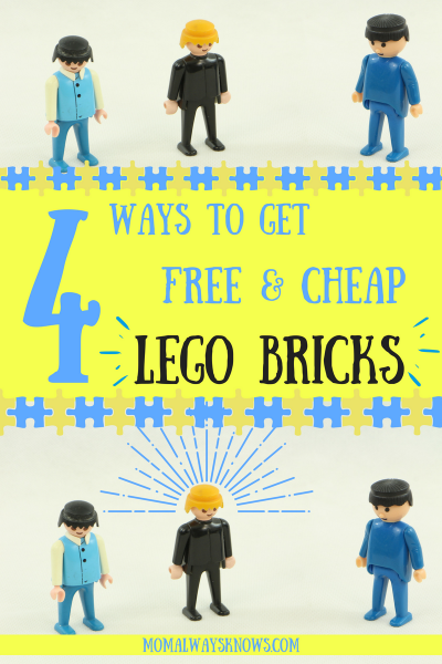 4 Ways to get Free and Cheap Lego Bricks