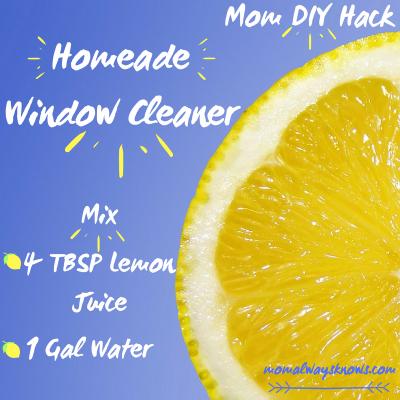 diy easy window cleaner
