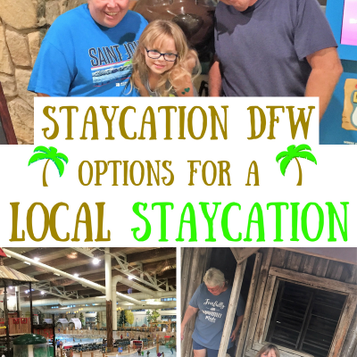 Staycation DFW- Great Options for a Local Staycation