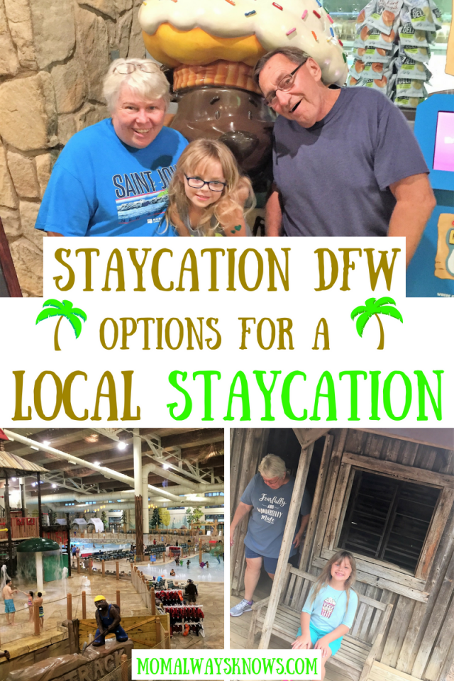 staycation ideas dfw