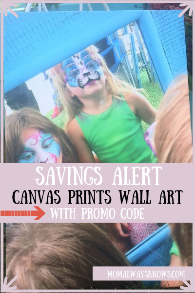 Savings Alert on Canvas Prints Wall Art with Promo Code