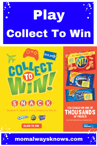 Play the Collect to Win Games at Walmart