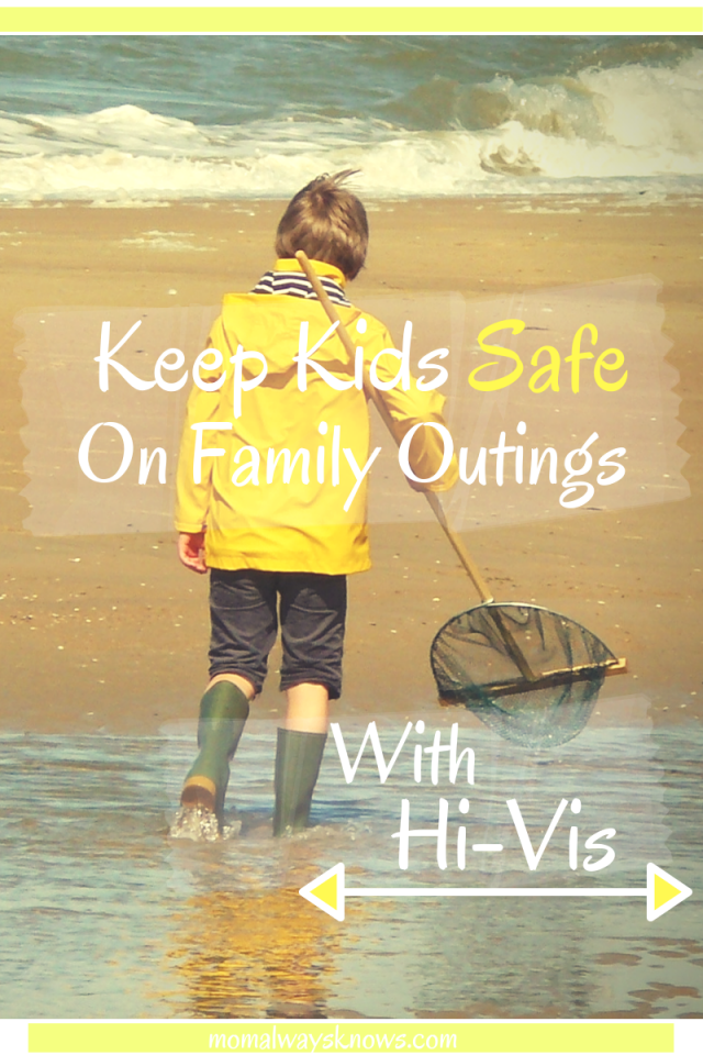 kids wearing hi vis