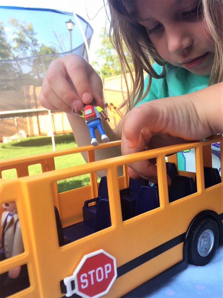 playmobil bus set