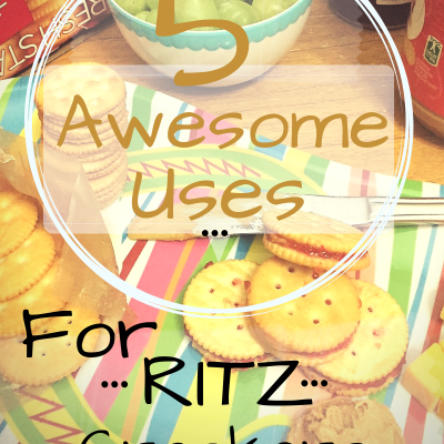5 Awesome Uses For RITZ Crackers plus ibotta Offer and Sweeps