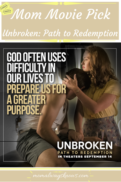 Mom Movie Pick: Unbroken: Path to Redemption