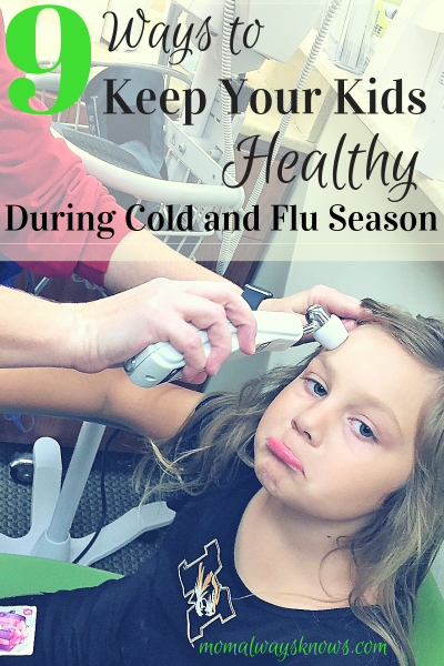 Top 9 Ways to Keep Your Child Healthy During Cold and Flu Season
