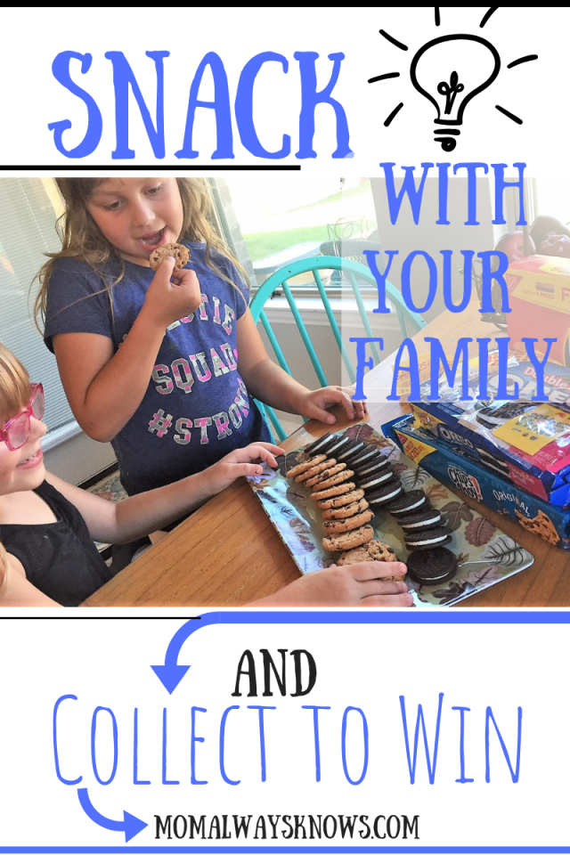 snack with family and win