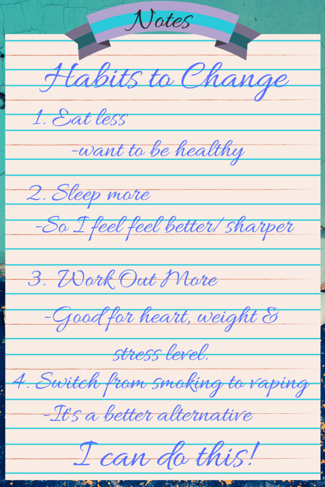 habits to change this fall