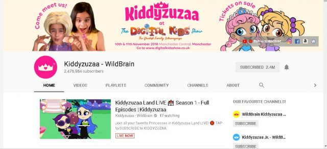 kiddyzuzaa on youtube